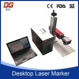Máquina portable de alta velocidad 20W de la marca del laser de la fibra