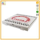 Impresión de empaquetado de papel de los rectángulos del rectángulo de encargo de la pizza del rectángulo de Currugated