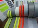 Feuille r3fléchissante r3fléchissante élastique matérielle de PVC Fabrie pour le T-shirt