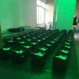 2017 stelde de Nieuwe APP WiFi van de Kern van de Aankomst Batterij Projector van het PARI van het Draadloze LEIDENE Stadium van het PARI de Lichte voor de Gebeurtenis van de Staaf van de Club van de Disco in werking