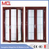Porta de porta de alumínio com porta principal com desenhos de churrasqueira