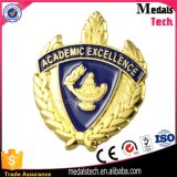 Custom Wholesale Cheap Gold Plated Broches 3D lapel pins