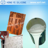 Moulage en caoutchouc de silicone pour décoration murale intérieure