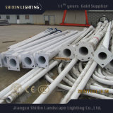 4m5m6mの円形の電流を通された鋼鉄街灯のポスト