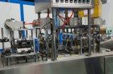 Автоматические пластичные завалка югурта чашки и машина запечатывания
