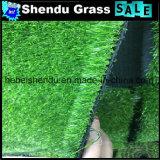 Grama artificial verde barata para o mercado de Dubai com projeto do OEM
