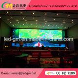 Indicador de diodo emissor de luz interno da visão dos media de anúncio do preço de grosso P3, USD780