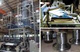 Ventilador de plástico de tração rotativa de co-extrusão de várias camadas