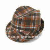 Chapéus flexíveis do Fedora do chapéu de feltro do chapéu do chapéu de feltro de lãs