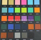 искусственная кожа PU прибытия 0.7mm новая для тетради (Y91-93)