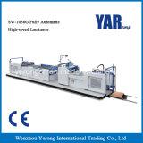Completamente automática máquina laminadora película de alta velocidad para un solo papel lateral