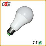 E27/B22 lampadine 110V/220V della lampadina 7With9With12With18W LED dell'alluminio A60 LED