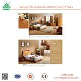 Atacado Hotel Modern Furniture Iron Wood Bedroom Set