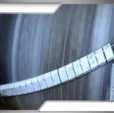 1400mm de ancho de banda transportadora Correa cerámica limpiador