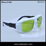 Hoge Overbrenging 60% Diode en Nd: De Beschermende brillen van de Veiligheid van de Laser YAG/de Bril van de Veiligheid (YHP 8001100nm) met Frame36