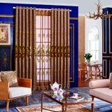 Подгонянный занавес 100% квартиры гостиницы полиэфира размера с Striped