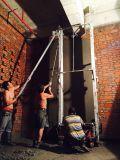 Mur élevé d'Efficiecny plâtrant la machine pour le mur intérieur
