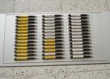 Quente! ! ! Máquina de impressão UV da pena do diodo emissor de luz com projeto colorido