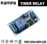 módulo de relais del interruptor de control del temporizador del retardo del indicador digital de la automatización casera de 12V LED
