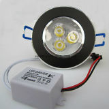 Het LEIDENE van het aluminium BinnenLicht van het Plafond voor de Lamp van de Vlek 3W 5W