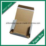 Projetar a caixa corrugada flauta do encarregado do envio da correspondência do transporte f livro