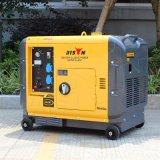Prezzo di fabbrica diesel del generatore della Cina BS6500dsea 5kw 5kVA del bisonte &#160 certo; Prezzo diesel silenzioso del generatore del generatore 5kVA