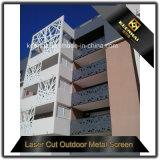 De decoratieve Openlucht Geperforeerde GolfBekledingspanelen van de Muur Metall
