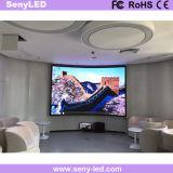 Pequeño pixel 2.5m m LED que hacen publicidad del panel para los acontecimientos movibles de la etapa