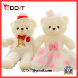 Ursos da peluche dos pares do urso do luxuoso de En71 Weddinggift