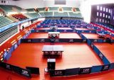 il PVC caldo di vendita 2018 mette in mostra il pavimento per ping-pong