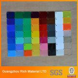 Цветные акриловые панели PMMA пластиковые панели Plexiglass