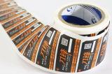 Pirnted 서류상 접착성 스티커 PVC 자동 접착 레이블 (Z027)