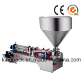 Una macchina di rifornimento semiautomatica dell'ugello per crema/unguento/l'inserimento