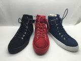 Zapatos de cuero de la zapatilla de deporte de la manera de los zapatos ocasionales de los hombres/de las mujeres (6105)