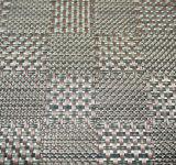 Jacquard Weave PVC Placemat para casa e restaurante