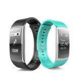 Reloj elegante de Bluetooth de la pulsera del movimiento del monitor impermeable del ritmo cardíaco