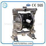 Edelstahl-mechanische dosierende pneumatische Membranpumpe für Lösungsmittel