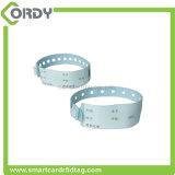 Wristband PVC UHF водоустойчивого чужеземца H3 ISO18000-6C устранимый