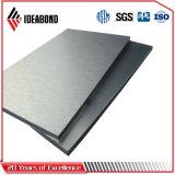 Самая лучшая продавая панель продукта почищенная щеткой Ideabond алюминиевая составная
