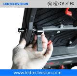 Indicador de diodo emissor de luz P3.91 de anúncio interno para o aluguer (P3.91, P4.81, P5.95, P6.25)