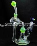 Tubulação de água de Glss com o equipamento de luxe do reciclador do vidro verde