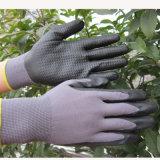 Guanto del lavoro di sicurezza dei guanti del nitrile della gomma piuma dei guanti di Mechanix dei puntini del nitrile