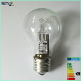 A60 220-240V Clear Halogen Saving Lamp