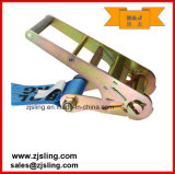 "cinta 4 "" azul da catraca de 4 "" anéis-D de X 30 '"