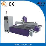 Machine de gravure en bois de découpage de couteau de commande numérique par ordinateur de qualité pour l'acrylique en plastique de forces de défense principale