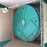 Catena galvanizzata elettrica DIN5685A con colore verde della bobina