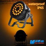 24*10W 4-en-1 LED IP65 nominale par lumière/phase Lumière /Disco lumière