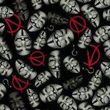 De nouveaux schémas Tsautop 1m/Dessins et modèles de bande dessinée de 0,5M V Vendetta PVA Impression par transfert de l'eau Film film hydrographique Hydro Film d'impression Tssw999