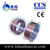 Em12 alambre de soldadura de arco sumergido en Shandong China