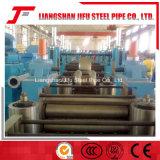 鋼管の使用された高周波溶接機